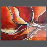 """Bild von Angelika Neumann - """"Zauberwald"""" - Acryl - Leinwand - 120 x 160 cm"""